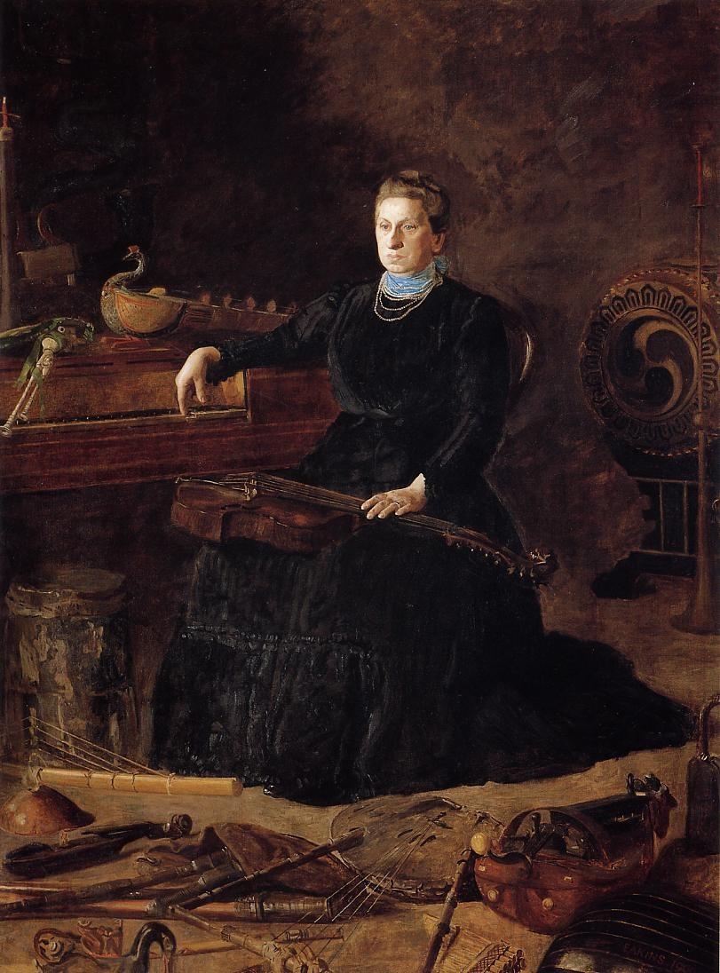 Portrait of Sarah Sagehorn Frishmuth