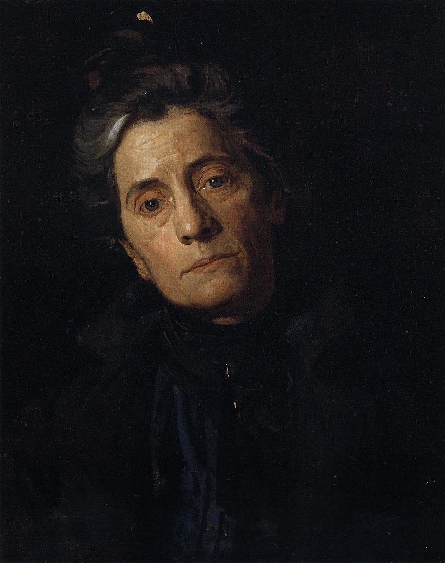 Portrait of Susan MacDowell Eakins (The Artist Wife)