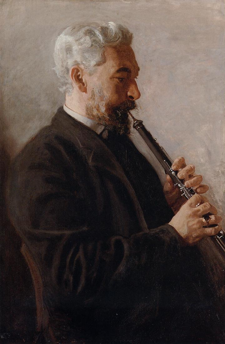 The Oboe Player (Benjamin Sharp)