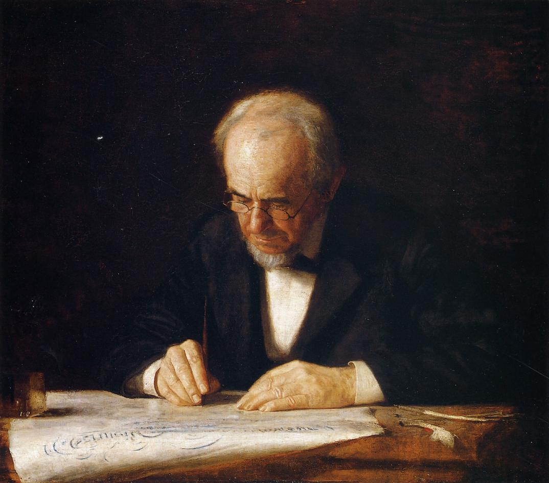 The Writing Master (The Artist Father)