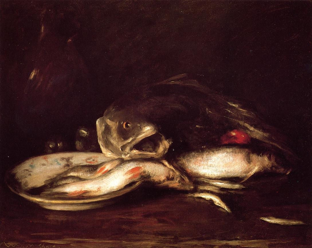 still-llife-with-fish-and-plate