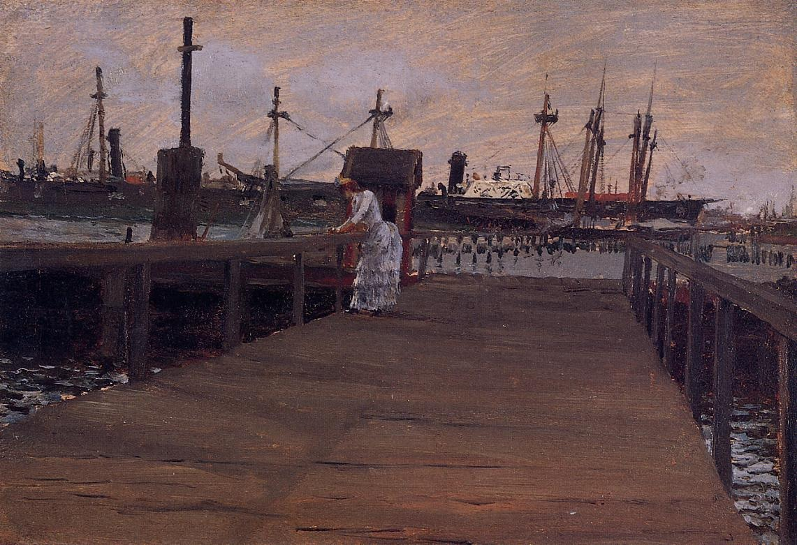 woman-on-a-dock